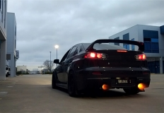 Black Evo Flames