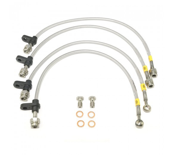 hel performance braided brake hoses  oem replacement